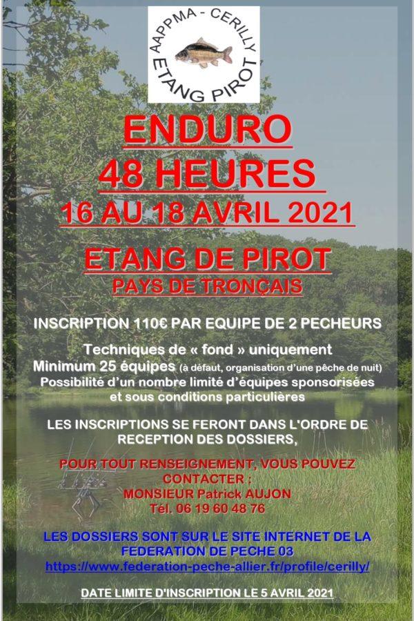 Enduro du 16 au 18 avril 2021